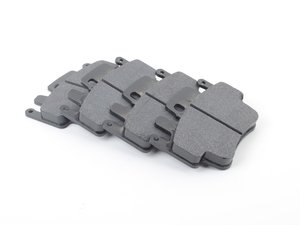 ES#1874073 - HB550S.634 - HT-10 Racing Brake Pads - Designed for high deceleration rates, a smooth initial bite - Hawk - Porsche