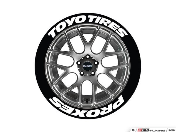 Tire Stickers Toypro19211254ps Toyo Tires Proxes Tire