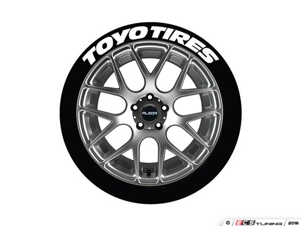 tire stickers toytir171814 toyo tires tire lettering. Black Bedroom Furniture Sets. Home Design Ideas