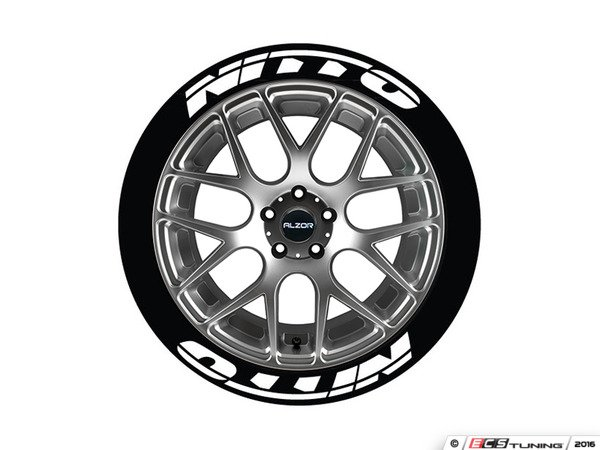 Audi Used For Sale >> Tire Stickers - NIT1921758 - Nitto Tire Lettering Kit - White - 8 of Each
