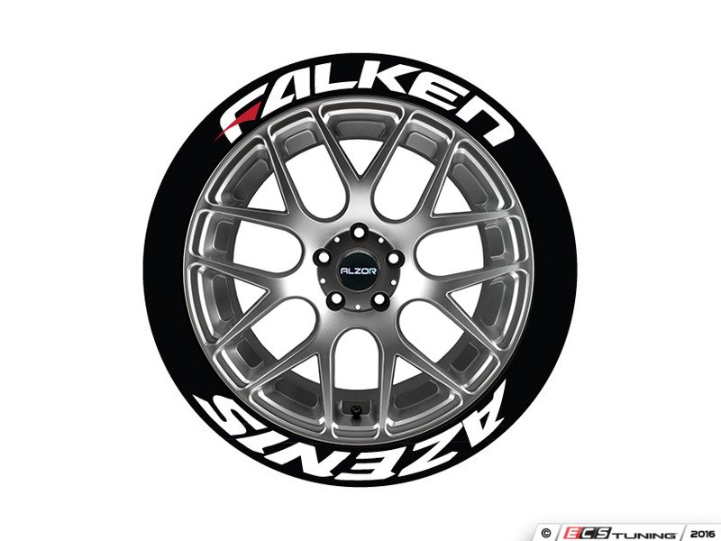 tires with red lettering tire stickers fazred17181254ps falken azenis tire 14061 | 937545 x800