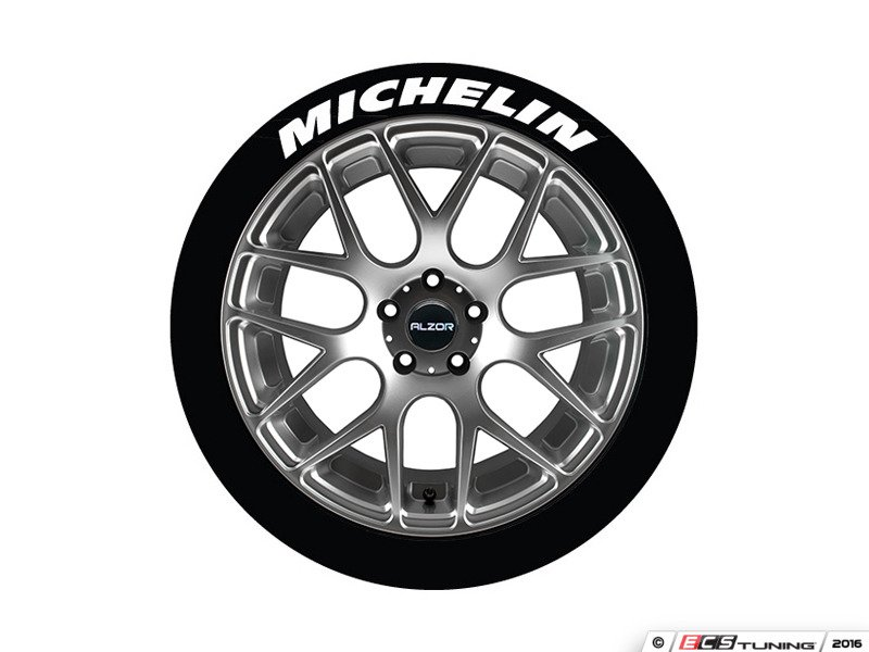 Tire Stickers Mic17181254 Michelin Tire Lettering Kit