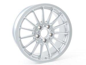 ES#64406 - 36111095337 - Style 32 Alloy Wheel 17x8 ET47 - Brilliantine Finish - (NO LONGER AVAILABLE) - 17x8 ET47 - Genuine BMW - BMW