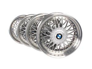 17 inch Style 5 Cross Spoke Wheel - Square Set Of 4