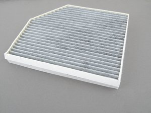 ES#3202691 - 8K0819439B - Charcoal Lined Cabin Filter / Fresh Air Filter - The activated charcoal filters odor from reaching the cabin - Hengst - Audi