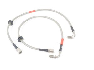 ES#3209771 - BL14 - Front Porsche Conversion Braided Brake Lines - Be sure to have high quality brake lines for your Porsche caliper upgrade! - Creations Motorsport - BMW