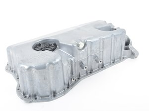 ES#3188614 - 264-721 - Oil Pan Assembly - Does not include pick up. Includes oil level sensor cover as well as drain plug - Dorman - Volkswagen