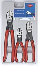 ES#2944022 - KNT002005US - 3 Pc. High Leverage Diagonal Cutters Set - If you like owning the best this set is for you. - Knipex - Audi BMW Volkswagen Mercedes Benz MINI Porsche