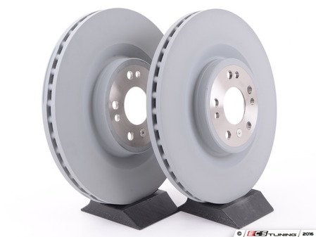 ES#2702854 - 1644211412KT6 - Front Brake Rotors - Pair - Does not include new brake rotor securing screws - Brembo - Mercedes Benz