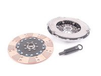 ES#2918676 - 02992-HDBL-R - FX400 Clutch Kit - Stage 4 - Ceramic 8-puck, rigid hub clutch disc with heavy duty pressure plate, Rated for 575ft/lbs. - Clutch Masters - Audi