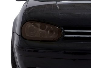 ES#1873123 - VW002-GS - Headlight Protective Film - Gun Smoke (12%) - Provides a custom look and protection at the same time - Lamin-X - Volkswagen