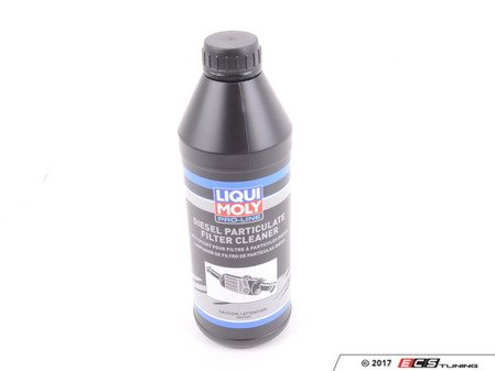 ES#3220402 - 20110 - Diesel Particulate Filter Cleaning Fluid - 1 Liter - Used with Liqui-Moly's Pro-Line DPF Purge Fluid and Spray Gun to help restore DPF efficiency and operation. - Liqui-Moly - Audi BMW