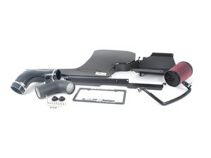 """ES#4057577 - 009199ECS02-01 -  MK7 Golf R 6spd Manual - Kohlefaser Luft-Technik Intake System - With Silicone Inlet Tube - In House Engineered """"Air Technology!"""" Featuring Carbon Fiber Dual Air Inlet Lid, Silicone Turbo Inlet Coupler and Coolant Reroute Hose - ECS - Volkswagen"""