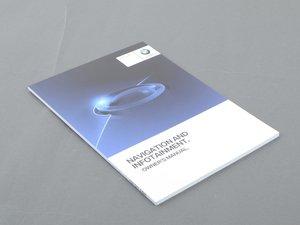 ES#3172585 - 01402975099 - Owner's Handbook - NAV and Infotainment - Genuine BMW - BMW