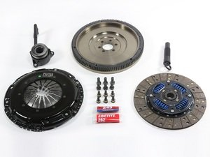 ES#3220731 - MA-034-062 -  Stage 1 Performance Clutch Kit - With Single Mass Flywheel - Designed to hold up to 258 ft/lbs of torque to the wheels with a sprung organic disc and iron flywheel - DKM - Audi Volkswagen