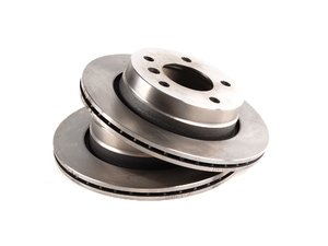 ES#10435 - 34216855155kt1 - Rear Brake Rotors - Pair (276x19) - Quality aftermarket brake components. - Balo - BMW
