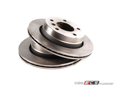 ES#10435 - 34216855155kt1 - Rear Brake Rotors - Pair (276x19) - Quality aftermarket brake components. - Balo - BMW
