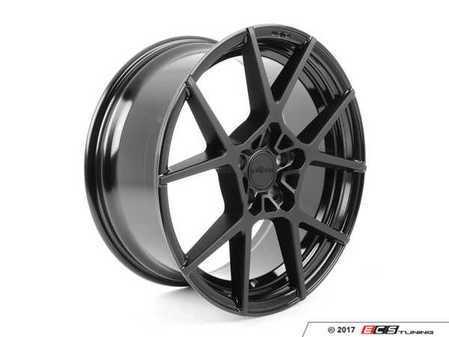 """ES#3170954 - R13919854345KT1 - 19"""" KPS - Set Of Four  - 19""""x8.5"""" ET45 5x112 - Matte Black Face / Gloss Black Windows - Rotiform - Audi Volkswagen"""