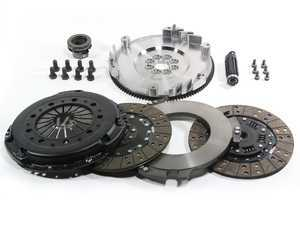 ES#3220842 - MS-006-054 - Stage 3 Performance Twin Disc Clutch Kit - Single Mass Flywheel - Designed to hold 100 to 200% more torque capacity to the wheels. - DKM - BMW