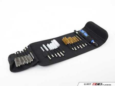 ES#2932103 - AST9020 - 20PC Wire Brush Set - Clean bores and rusty holes with this complete brush set. - Astro Pneumatic - Audi BMW Volkswagen Mercedes Benz MINI Porsche