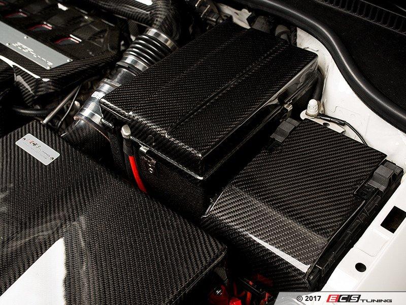 ECS News ECS Carbon Fiber Fuse Box Overlay Audi VW