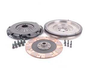 ES#3021864 - BFI25228ST3 - BFI 2.5L 228mm Clutch Kit and Lightweight Flywheel - Stage 3 - Includes a lightweight 4140 forged steel flywheel, performance pressure plate and performance clutch disk. Rated for 300wtq. - Black Forest Industries - Volkswagen