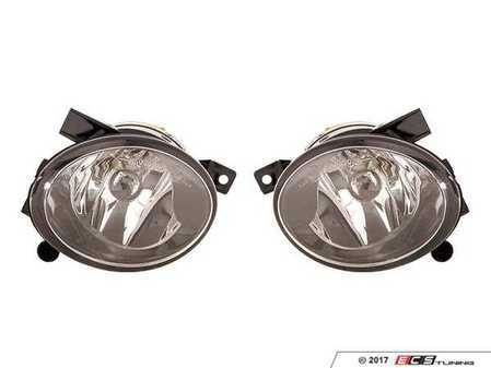 ES#3220982 - 441-2038P-AS - Fog Light Assembly - Pair - Replacement reflector fog light housings - Depo - Volkswagen