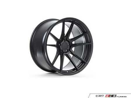 "ES#3234549 - rf220115112mbKT1 - 20"" RF2 Wheels - Set Of Four - 20""x11"", ET28, CB66.6, 5x112 - Matte Black - Rohana Wheels - Audi"