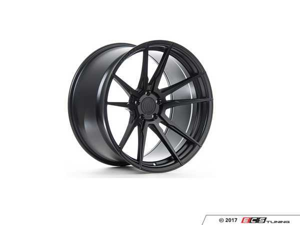 "ES#3247541 - rf219955112bKT - 19"" RF2 Wheels - Set Of Four - 19""x9.5"", ET30, CB66.6, 5x112 - Matte Black - Rohana Wheels - Audi"