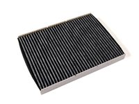 ES#1928401 - 1J0819644A - Charcoal Lined Cabin Filter / Fresh Air Filter OEM# 1J0819644A - The activated charcoal filters odor from reaching the cabin - Mann - Audi Volkswagen