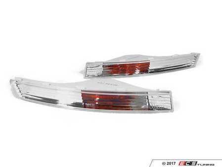 ES#3220975 - 441-1623P-UE-C - Bumper Side Marker Set - Clear - Change up the look of your B6 Passat - Depo - Volkswagen