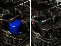 ES#3200158 - 021097ECS01 - Carbon Fiber Oil Filter Cover - Easy to install carbon fiber cover to add subtle enhancements under your hood - ECS - Audi Volkswagen