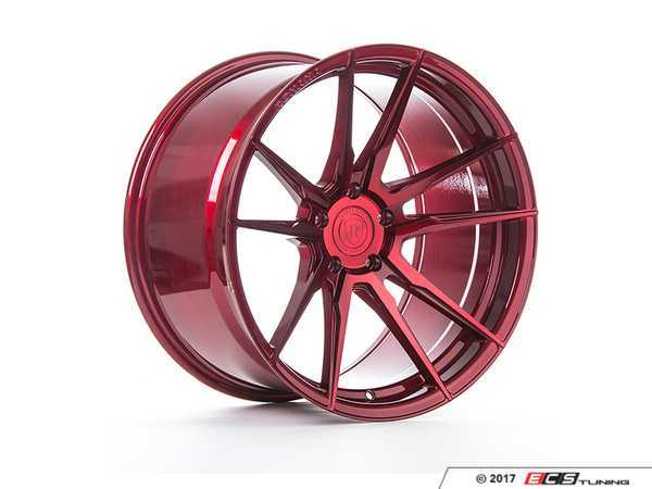 """ES#3420672 - rf22010et25KT2 - 20"""" RF2 Wheels - Square Set Of Four - 20x10"""" ET25 5x120 74.1CB with 72.56 Adapter - Gloss Red - Rohana Wheels - BMW"""