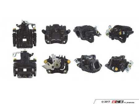 ES#3245581 - 142.33556KT - Rear Brake Caliper - Left - Price includes $65 refundable core charge. Loaded, remanufactured unit includes carrier - Centric - Audi Volkswagen