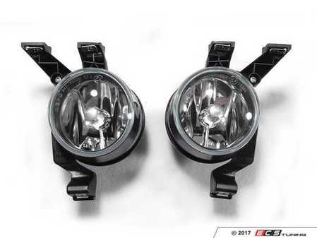 ES#3220957 - 341-2006P-AQ - Fog Light Assembly - Pair - Replacement reflector fog light housings - Depo - Volkswagen