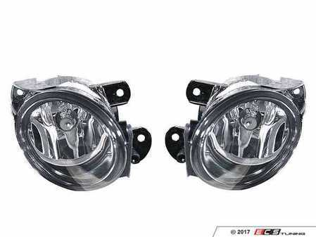 ES#3220958 - 341-2008P-AQN - Reflector Fog Light Assembly - Pair - Replacement reflector fog light housings - Depo - Volkswagen