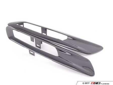 ES#3221495 - BM0071gb - Side Marker Trim Set - Gloss Black - Replaces the chrome side marker trim - AUTOTECKNIC - BMW
