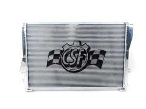 ES#3135115 - 7064 - High Performance Aluminum Radiator - Ultra-efficient dual-core, triple-pass radiator from a leader in BMW cooling. Cooler engine temps mean more power and longer life of engine components. - CSF - BMW