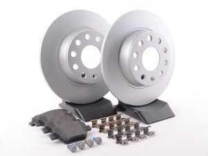 ES#3145586 - ESK5667 - Euro-Stop Brake Kit - Rear (272x10) - A quality braking kit to restore braking performance - Power Stop - Volkswagen