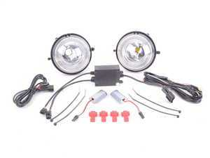 ES#3200104 - ADL-R56-V3-CL - DRL LED Halo Fog Lights V3  - Retrofit kit for upgrade to Halo DRLs - Vinstar - MINI