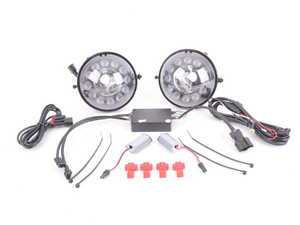ES#3200098 - ADL-R56-V2-CB - DRL LED Halo Fog Lights V2 - Retrofit kit for upgrade to dotted Halo DRLs - Vinstar - MINI
