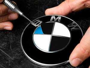 ES#3025179 - RDMTB - roundel overlay - matte black - Includes enough overlays for hood, trunk and wheel roundels! - Turner Motorsport - BMW