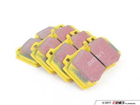 ES#520841 - DP41363R - Yellowstuff Performance Front Brake Pad Set - A race-quailty pad that can be used at the track and back home again - EBC - Mercedes Benz