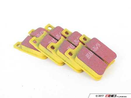 ES#521123 - DP4887R - Rear Yellowstuff Performance Brake Pad Set - A race-quailty pad that can be used at the track and back home again - EBC - Mercedes Benz