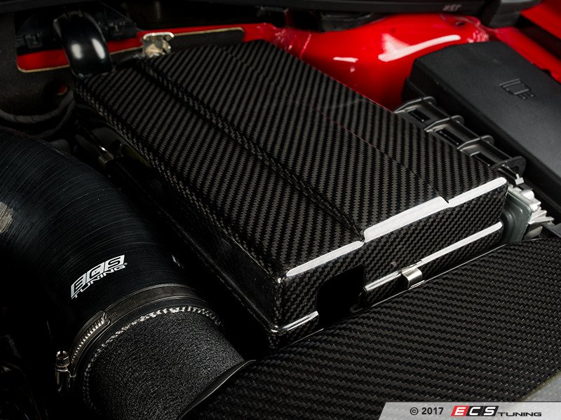 Ecs 014728ecs01kt Carbon Fiber Battery Cover Kit
