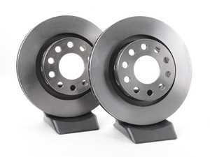 ES#263555 - 4Z7615601KT - Rear Brake Rotors - Pair (269x22) - Restore the stopping power in your vehicle - Pilenga - Audi