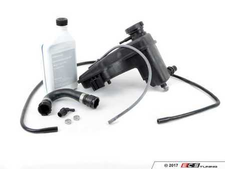 ES#3236073 - 17112283344KT2 - Expansion Tank Replacement Kit  - Includes ECS S54 Exact-fit Water Pipe Connecting Line! - Assembled By ECS - BMW