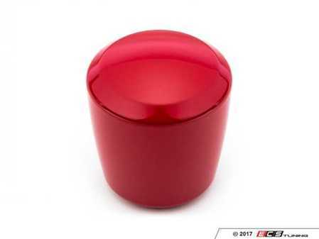ES#3237342 - 08311124 - Ashiko Shift Knob - Red Gloss - No Engraving - BMW Adapter - Smooth out notchy shifting with this shift knob from Raceseng's Mass Series weighing in at 735g. - Raceseng - BMW