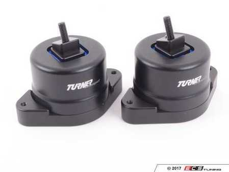 ES#3240945 - 002445TMS02 - Turner N52/N54/N55 Polyurethane Engine Mount Set- 80A - Performance engine mounts to increase drivetrain rigidity; industry leading design without the noise and vibration of typical polyurethane mounts. - Turner Motorsport - BMW