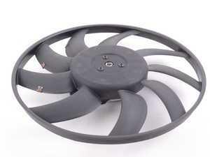 ES#3240959 - 8K0959455K - Electric Cooling Fan - Left - 400Watt 400mm fan behind the radiator - Nissens - Audi
